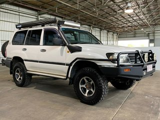 2005 Toyota Landcruiser HZJ105R Standard White 5 Speed Manual Wagon.