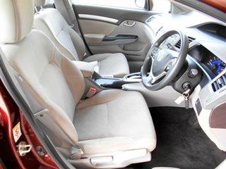 2012 Honda Civic 9th Gen Ser II VTi-L Red 5 Speed Sports Automatic Sedan