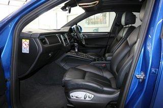 2017 Porsche Macan 95B MY18 PDK AWD Blue 7 Speed Sports Automatic Dual Clutch Wagon