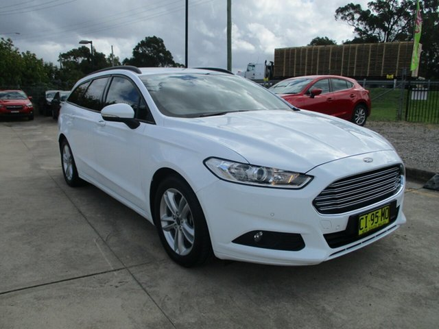Used Ford Mondeo MD Ambiente Glendale, 2016 Ford Mondeo MD Ambiente White 6 Speed Sports Automatic Dual Clutch Wagon