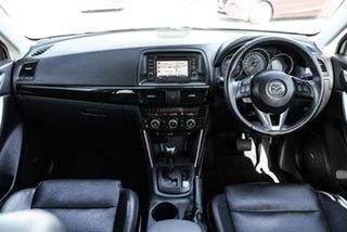 2013 Mazda CX-5 KE Series Grand Touring Silver Sports Automatic SUV.
