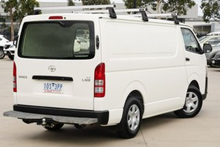 2018 Toyota HiAce KDH201R (No Badge) White Automatic Van.