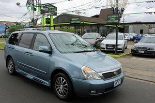 2011 Kia Grand Carnival VQ MY12 Platinum Blue 6 Speed Sports Automatic Wagon