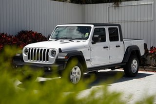 2020 Jeep Gladiator JT MY21 Sport Pick-up S Bright White 8 Speed Automatic Utility
