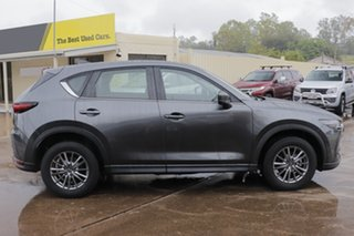 2018 Mazda CX-5 KF2W7A Maxx SKYACTIV-Drive FWD Sport Machine Grey 6 Speed Sports Automatic Wagon.