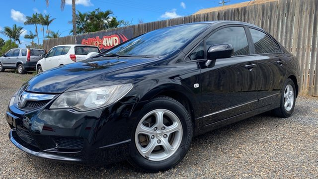 Used Honda Civic Limited Edition Bundaberg, 2010 Honda Civic VTi Limited Edition Black Automatic Sedan