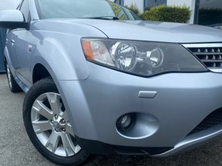 2008 Mitsubishi Outlander ZG MY08 VR-X Silver 6 Speed Sports Automatic Wagon.