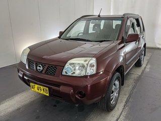 2005 Nissan X-Trail T30 II ST Maroon 4 Speed Automatic Wagon.