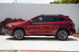 2020 Jeep Cherokee KL MY21 S-Limited Velvet Red 9 Speed Sports Automatic Wagon