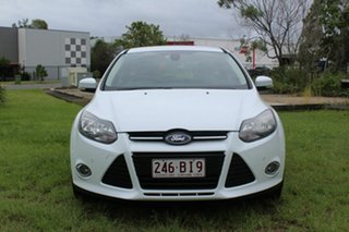 2012 Ford Focus LW MkII Titanium PwrShift White 6 Speed Sports Automatic Dual Clutch Hatchback.