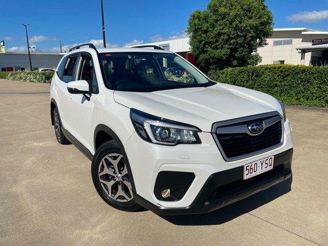 Used Subaru Forester S4 MY18 2.5i-L CVT AWD Townsville, 2018 Subaru Forester S4 MY18 2.5i-L CVT AWD White/280918 6 Speed Constant Variable Wagon