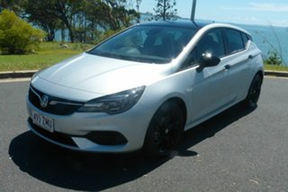 2019 Holden Astra BK MY19 RS Black Edition Silver 6 Speed Sports Automatic Hatchback