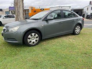 2009 Holden Cruze JG CD Grey 6 Speed Sports Automatic Sedan.