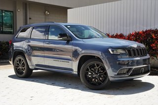 2020 Jeep Grand Cherokee WK MY21 S-Limited Pacific Blue 8 Speed Sports Automatic Wagon.