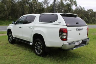 2019 Mitsubishi Triton MR MY20 GLS Double Cab Premium White 6 Speed Sports Automatic Utility