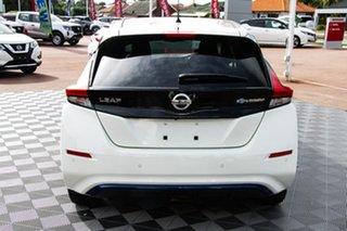 2020 Nissan Leaf ZE1 Arctic White 1 Speed Reduction Gear Hatchback.