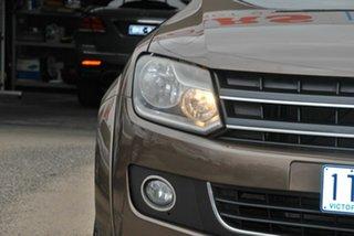 2014 Volkswagen Amarok 2H MY13 TDI400 Highline (4x4) Brown 6 Speed Manual Dual Cab Utility