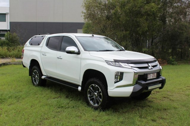 Used Mitsubishi Triton MR MY20 GLS Double Cab Premium Ormeau, 2019 Mitsubishi Triton MR MY20 GLS Double Cab Premium White 6 Speed Sports Automatic Utility
