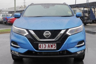 2020 Nissan Qashqai J11 Series 3 MY20 Ti X-tronic Vivid Blue 1 Speed Constant Variable Wagon