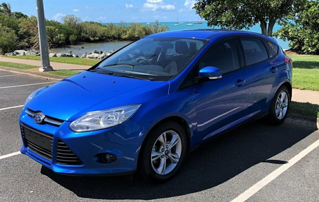 Used Ford Focus LW MkII Trend PwrShift Proserpine, 2013 Ford Focus LW MkII Trend PwrShift Blue Automatic Hatchback