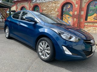 2014 Hyundai Elantra MD3 Trophy Blue 6 Speed Sports Automatic Sedan.