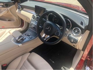 2019 Mercedes-Benz GLC250 253 MY19 Red 9 Speed Automatic G-Tronic Wagon