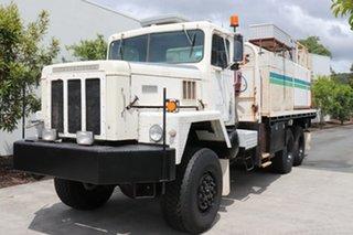 1981 International White Automatic Service Body
