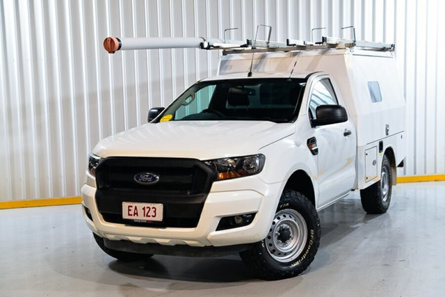 Used Ford Ranger PX MkII XL Hendra, 2016 Ford Ranger PX MkII XL White 6 Speed Sports Automatic Cab Chassis