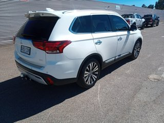 2019 Mitsubishi Outlander ZL MY19 Exceed AWD White 6 Speed Sports Automatic Wagon.