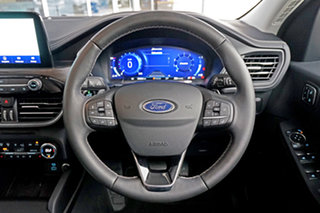 2020 Ford Escape ZH 2020.75MY Vignale AWD Black 8 Speed Sports Automatic SUV
