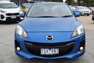 2010 Mazda 3 BL10L1 SP25 Activematic Blue 5 Speed Sports Automatic Hatchback.