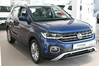 2020 Volkswagen T-Cross C1 MY21 85TSI DSG FWD Style Blue 7 Speed Sports Automatic Dual Clutch Wagon.