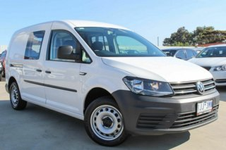 2016 Volkswagen Caddy 2KN MY17 TSI220 Maxi DSG White 7 Speed Sports Automatic Dual Clutch Van