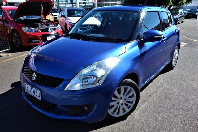 Used Suzuki Swift FZ GLX Seaford, 2012 Suzuki Swift FZ GLX Blue 4 Speed Automatic Hatchback