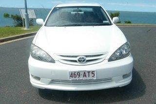 2005 Toyota Camry ACV36R MY06 Sportivo White 5 Speed Manual Sedan