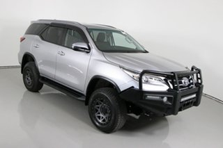 2018 Toyota Fortuner GUN156R MY18 GXL Silver 6 Speed Automatic Wagon