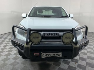 2012 Isuzu D-MAX MY12 SX Space Cab Splash White 5 Speed Manual Cab Chassis.
