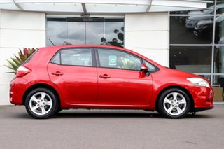 2010 Toyota Corolla ZRE152R MY10 Conquest Red 6 Speed Manual Hatchback.