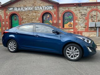 2014 Hyundai Elantra MD3 Trophy Blue 6 Speed Sports Automatic Sedan