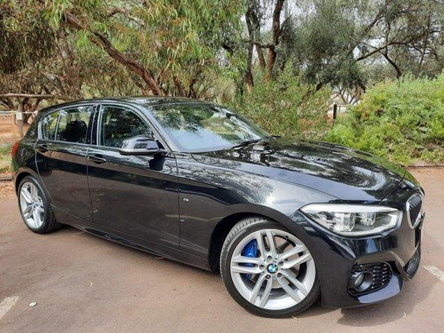 Used BMW 1 Series F20 LCI 125i M Sport Adelaide, 2016 BMW 1 Series F20 LCI 125i M Sport Black 8 Speed Sports Automatic Hatchback
