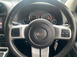 2014 Jeep Compass MK MY14 Limited White 6 Speed Sports Automatic Wagon