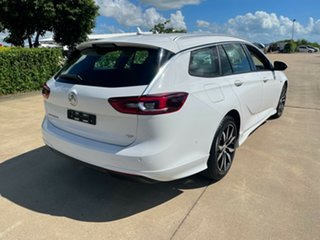 2018 Holden Commodore ZB MY19 RS Sportwagon White/150519 9 Speed Sports Automatic Wagon.