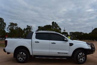 2018 Ford Ranger PX MkIII 2019.00MY Wildtrak White 10 Speed Sports Automatic Utility.