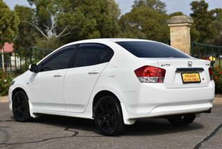 2009 Honda City GM MY09 VTi White 5 Speed Manual Sedan