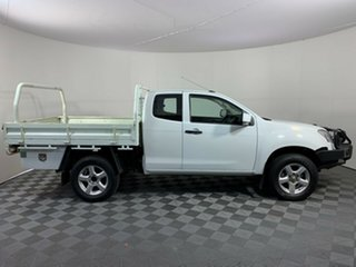 2012 Isuzu D-MAX MY12 SX Space Cab Splash White 5 Speed Manual Cab Chassis