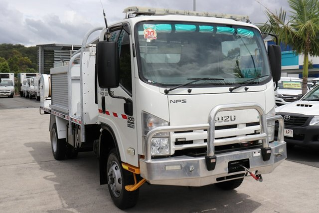 Used Isuzu NPS 300 Robina, 2012 Isuzu NPS 300 White Manual Firetruck