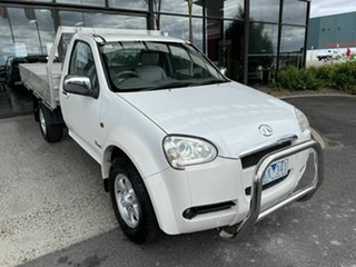 2011 Great Wall V240 K2 (4x2) White 5 Speed Manual Cab Chassis.