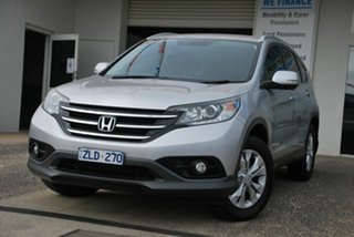 2012 Honda CR-V 30 VTi-S (4x4) Silver 5 Speed Automatic Wagon.
