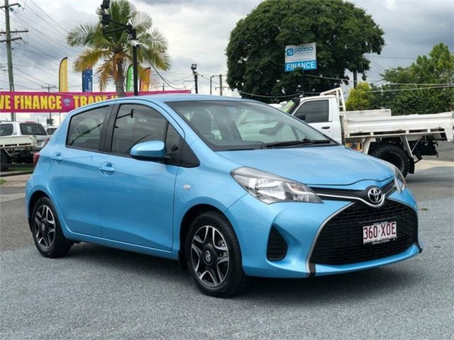 Used Toyota Yaris NCP130R Ascent Archerfield, 2015 Toyota Yaris NCP130R Ascent 5 Speed Manual Hatchback