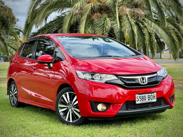 Used Honda Jazz GF MY17 VTi-S Cheltenham, 2017 Honda Jazz GF MY17 VTi-S Red/Black 1 Speed Constant Variable Hatchback